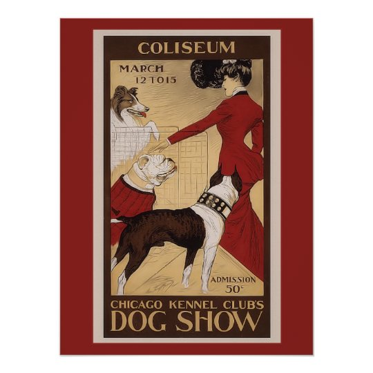 Chicago Kennel Club Poster