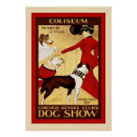 Chicago Kennel Club ~ Vintage Dog Show Poster