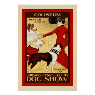 Chicago Kennel Club ~ Vintage Dog Show Posters