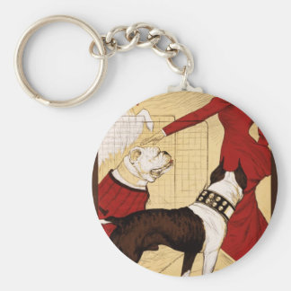 Chicago Kennel Club's Dog Show, Advertising Poster Keychain