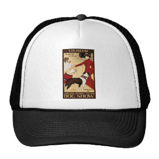 Chicago Kennel Club's Dog Show, Advertising Poster Trucker Hat