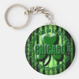 Chicago Keychain