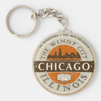 Chicago - keychain