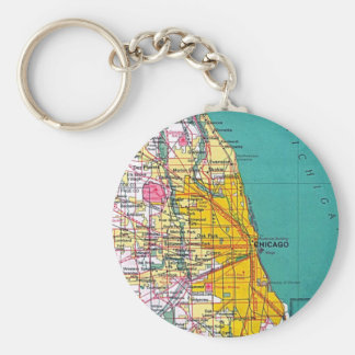 Chicago Keychain