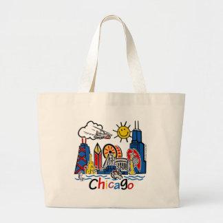 Chicago-KIDS- Converted Canvas Bag