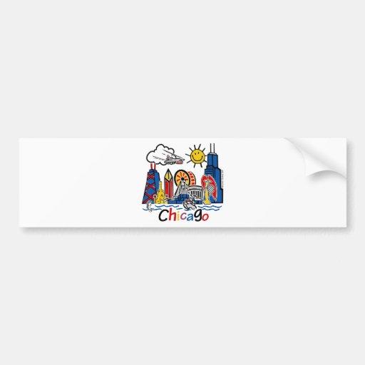 Chicago-KIDS-[Converted] Car Bumper Sticker