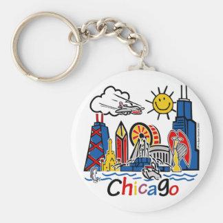 Chicago-KIDS-[Converted] Basic Round Button Keychain