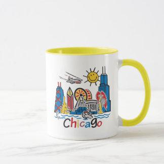 Chicago Kids Dark Mug