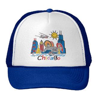 Chicago Kids Dark Trucker Hat