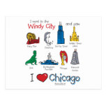 Chicago--kids-Icons-NEW-[Co Postcard