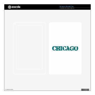 Chicago Kindle Fire Skin