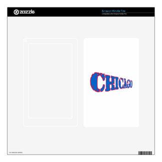 Chicago Kindle Fire Skins