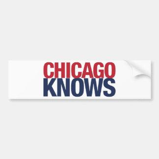Chicago Knows Bumper Sticker