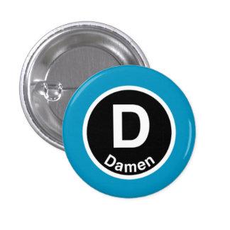 Chicago L Damen Blue Line Button