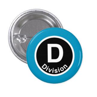 Chicago L Division Blue Line Pinback Button