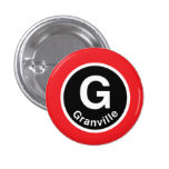 Chicago L Granville Red Line Pins