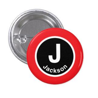 Chicago L Jackson Red Line Button