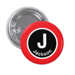 Chicago L Jackson Red Line Pins
