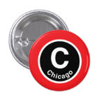 Chicago L línea roja de Chicago Pins