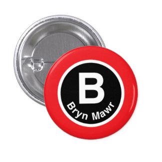 Chicago L línea roja del Mawr de Bryn Pins