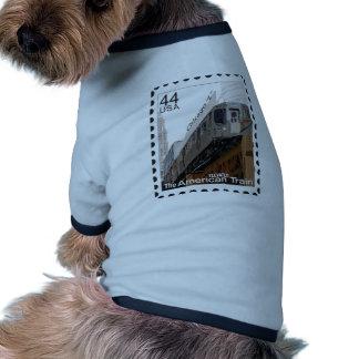 Chicago L sello Camiseta Con Mangas Para Perro