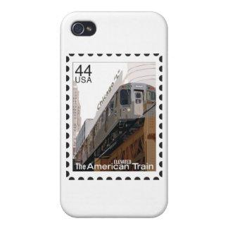 Chicago L sello iPhone 4 Carcasas