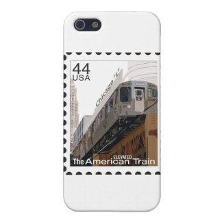 Chicago L sello iPhone 5 Fundas