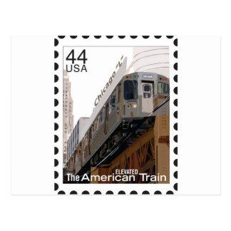 Chicago L sello Postal