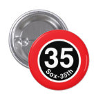 Chicago L Sox-35th Red Line Button