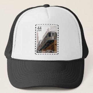Chicago L Stamp Trucker Hat