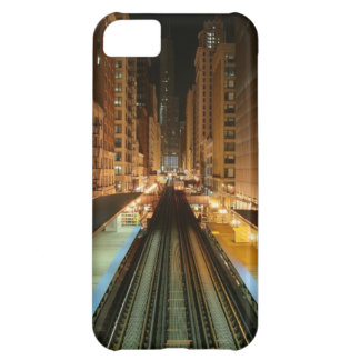 Chicago 'L' Station at Night iPhone 5C Cover