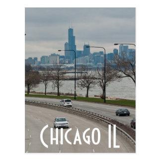 Chicago - la haba tarjeta postal