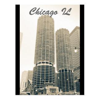 Chicago - la haba tarjetas postales
