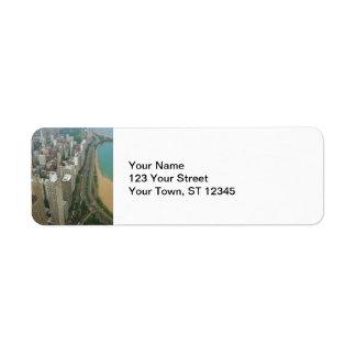 Chicago Return Address Label