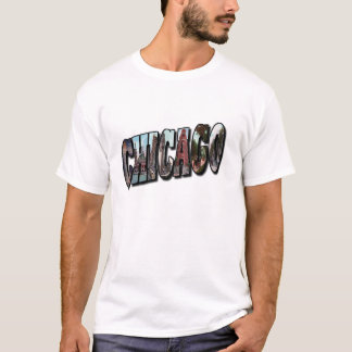 CHICAGO Large Pictorial Letters Shirt