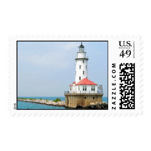 Chicago Lighthouse Stamps
