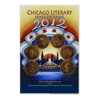 Chicago Literary Hall of Fame 2012 Poster