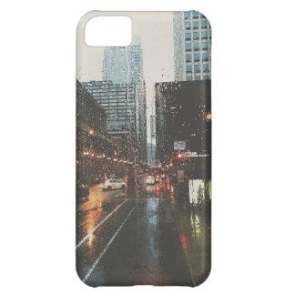 Chicago lluviosa funda para iPhone 5C