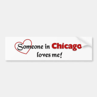 Chicago Love Bumper Sticker