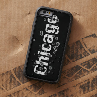 Chicago Mafia History Boss Gunshots Holes Sign Tough Xtreme iPhone 6 Case