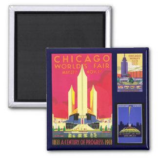 Chicago Refrigerator Magnets