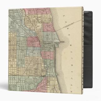 Chicago Map by Mitchell Binder
