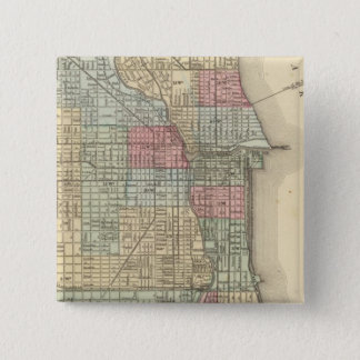 Chicago Map by Mitchell Button