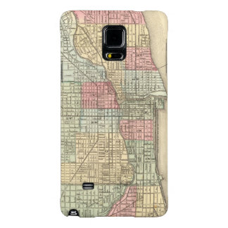 Chicago Map by Mitchell Galaxy Note 4 Case