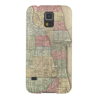 Chicago Map by Mitchell Galaxy S5 Case