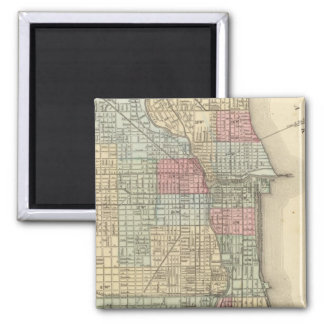 Chicago Map by Mitchell Magnet