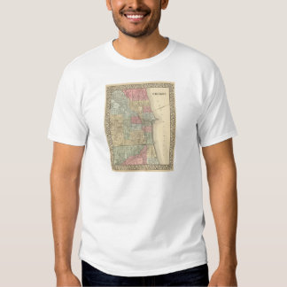 Chicago Map by Mitchell Shirt