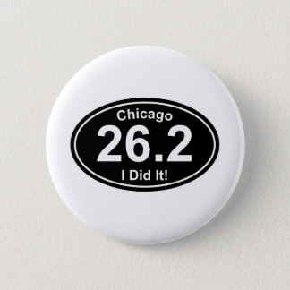 Chicago Marathon Button