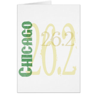Chicago Marathon Card