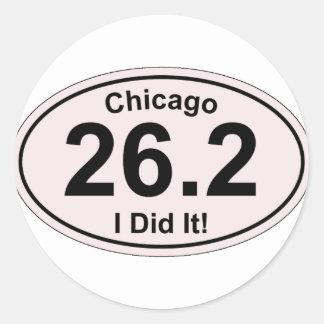 Chicago Marathon Stickers